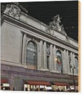 New York Grand Central Station Wood Print