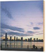 New York Hudson River Wood Print