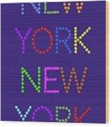 New York No 5  Wood Print