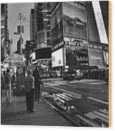 New York, New York 1 Wood Print