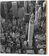 New York, New York 5 Wood Print