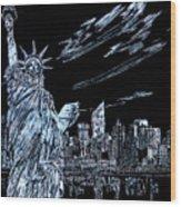 New York New York New York  Wood Print