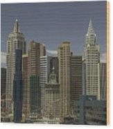 New York New York View 1 Wood Print