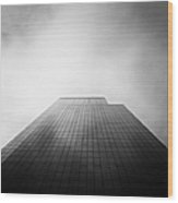 New York Skyscraper Wood Print by John Farnan