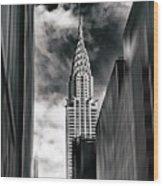 New York State Of Mind Wood Print