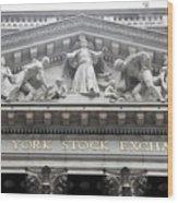 New York Stock Exchange Wood Print