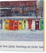New York Streetscapes 2016 Wood Print