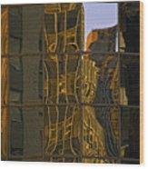 New York Sunset 1 Wood Print