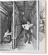 New York: Telephone, 1891 Wood Print