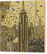 New York Urban Colors 3 Wood Print