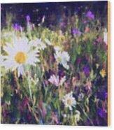 New York Wildflowers Xxv Wood Print