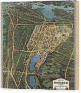 New York Worlds Fair 1939 Wood Print