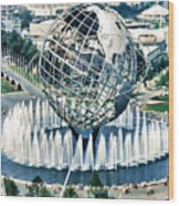 New York World's Fair Wood Print