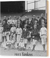 New York Yankees 1913 Wood Print