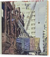 New Yorker April 27 1957 Wood Print