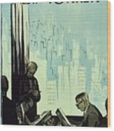 New Yorker January 16 1960 Wood Print