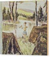 New Yorker July 11 1959 Wood Print