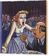 New Yorker June 5 1954 Wood Print