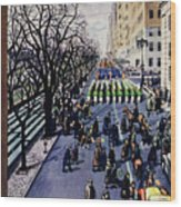 New Yorker March 14 1953 Wood Print