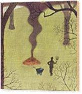 New Yorker November 14 1953 Wood Print