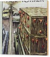 New Yorker November 17 1956 Wood Print