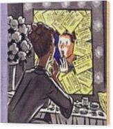 New Yorker October 25 1952 Wood Print