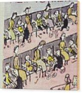 New Yorker September 10 1949 Wood Print
