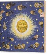 New York's New Solar System Vintage Poster 1898 Wood Print