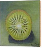 New Zealand Kiwi Wood Print