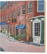 Newburyport  Ma Wood Print