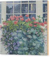 Newburyport Window Wood Print