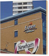 Newham Express Wood Print