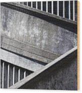 Newport Bridge Wood Print
