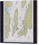 Newport Harbor Wood Print