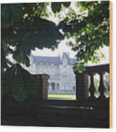 Newport Mansion Wood Print