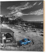 Newquay Harbour  Pickup  Wood Print