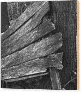 Nextdoorolddoor Wood Print