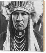 Nez Perce Native American Wood Print