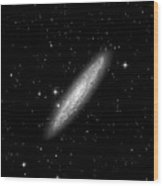 Ngc253 The Sculptor Galaxy Wood Print