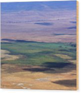 Ngorongoro Crater Tanzania Wood Print by Aidan Moran