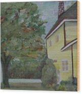 Nh Home  Wood Print