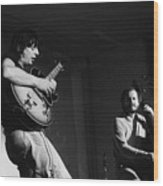Nhop And Philip Catherine On Stage Wood Print