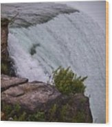 Niagara Fall Edge Wood Print