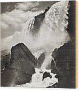 Niagara Falls, C1888 Wood Print