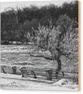 Niagara Falls Ice 4514 Wood Print
