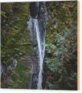 Niagara Falls In Bc Wood Print