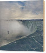 Niagara Falls Wood Print by Istvan Kadar Photography