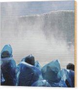 Niagara Falls Maid Of The Mist Boat Ride Wood Print