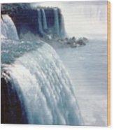 Niagara Falls New York State Wood Print