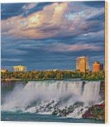 Niagara Falls - The American Side 3 Wood Print